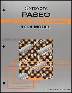 1994ToyotaPaseoWD 1994 toyota paseo wiring diagram manual original 90 Toyota Paseo at edmiracle.co