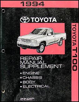 1993-1996 Toyota T100 Truck Automatic Transmission Repair ...