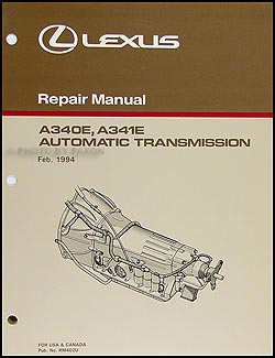 Superb 1995 2000 Lexus Gs Ls Sc Automatic Transmission Overhaul Manual Gs Wiring 101 Akebretraxxcnl