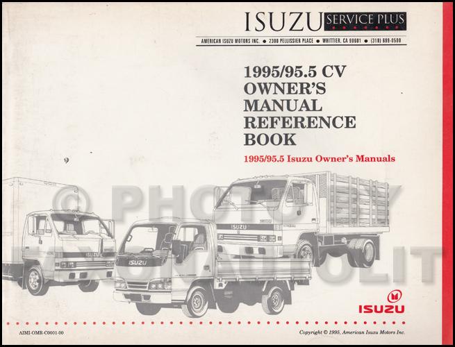 1995 npr & w4 diesel repair shop manual original, Wiring diagram