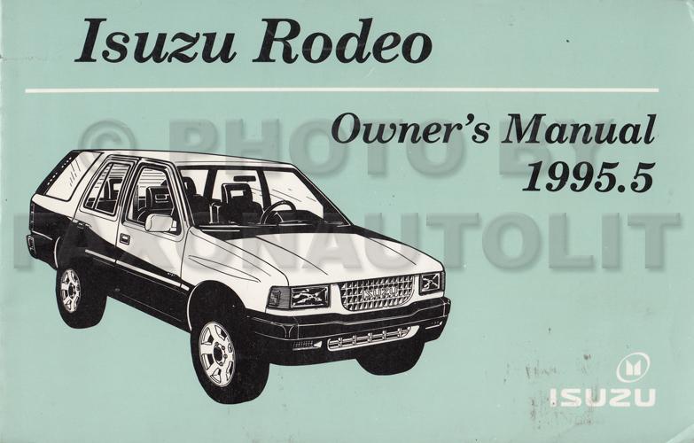 Free Repair Manual For A 1995 Isuzu Rodeo 1995 Isuzu