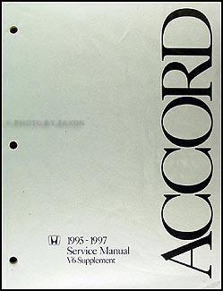 1995 1997 honda accord v6 repair shop manual supplement original rh faxonautoliterature com 99 honda accord repair manual pdf 1999 honda accord repair manual torrent
