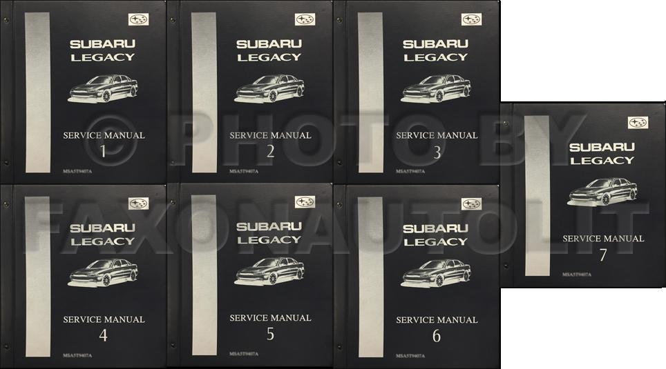 Subaru legacy 1995-1999 service repair manual download download m.