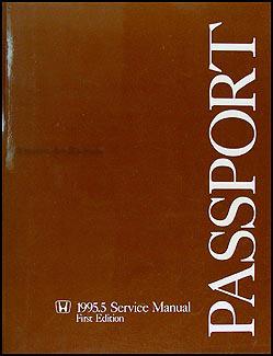 1995 5 honda passport repair shop manual original rh faxonautoliterature com 1995 honda passport repair manual Honda Passport Manual PDF