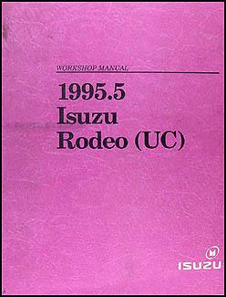 1995 5 Isuzu Rodeo Repair Shop Manual Original