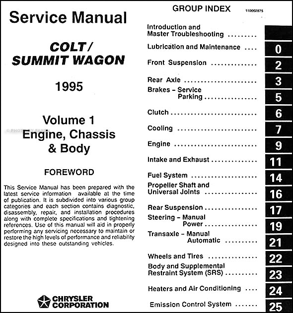 1995DodgeColtSummitWagORM TOC1 wiring diagram eagle summit wiring diagrams  at arjmand.co