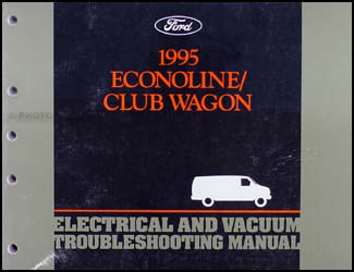 1995 Ford Econoline Van & Club Wagon Electrical Troubleshooting Manual