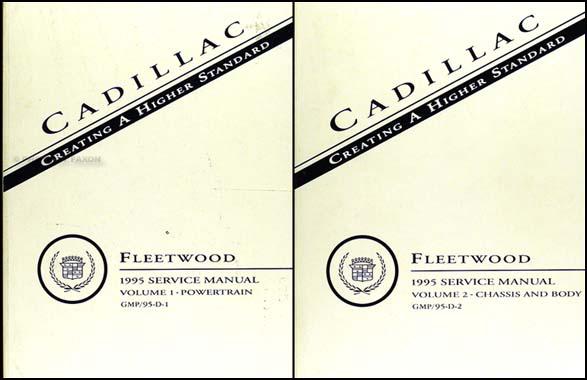 1995 cadillac fleetwood brougham repair shop manual original set rh faxonautoliterature com 1983 Cadillac Fleetwood Coupe 1983 Cadillac Fleetwood Coupe