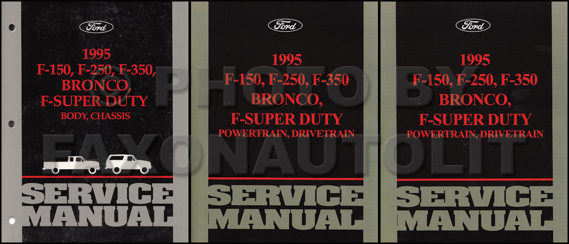 Ford Broncosdtruckormset on 1994 Ford F 150 Owners Manual