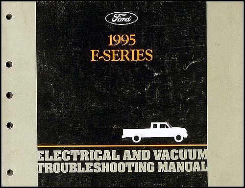 1995 Ford Obd1 Engine  Emissions Diagnosis Manual Original