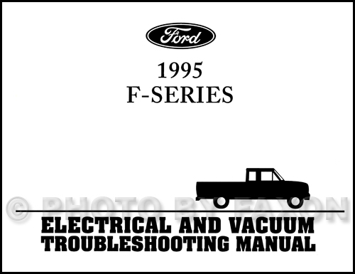 ford bronco vacuum diagram