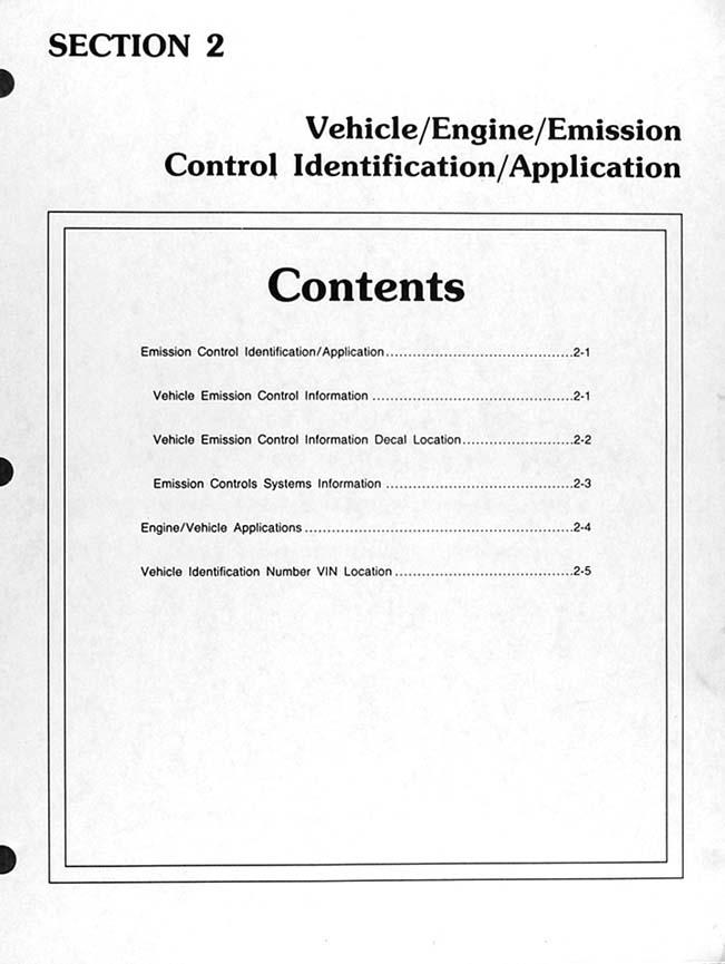 1995 Ford Obd Emissions Diagnosis Manual Original