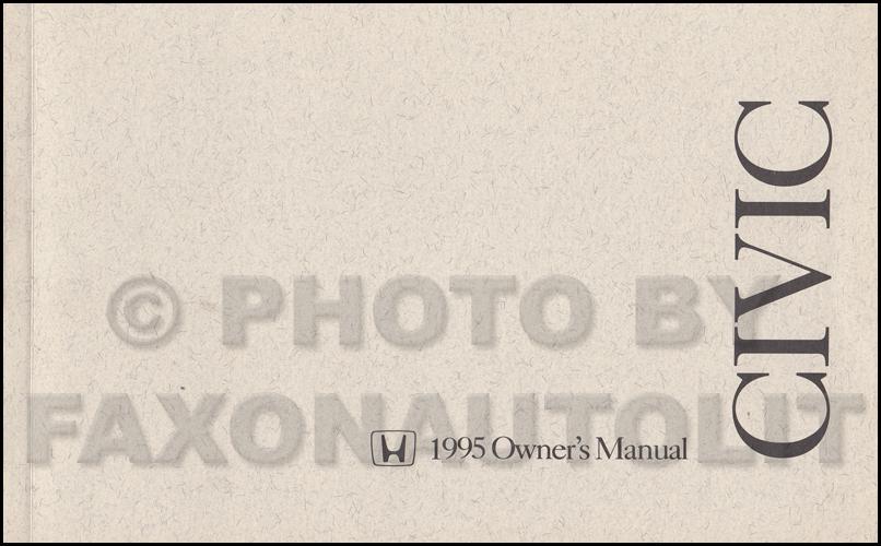 1995 honda civic hatchback owners manual 3 door oem for 2017 honda civic owner s manual