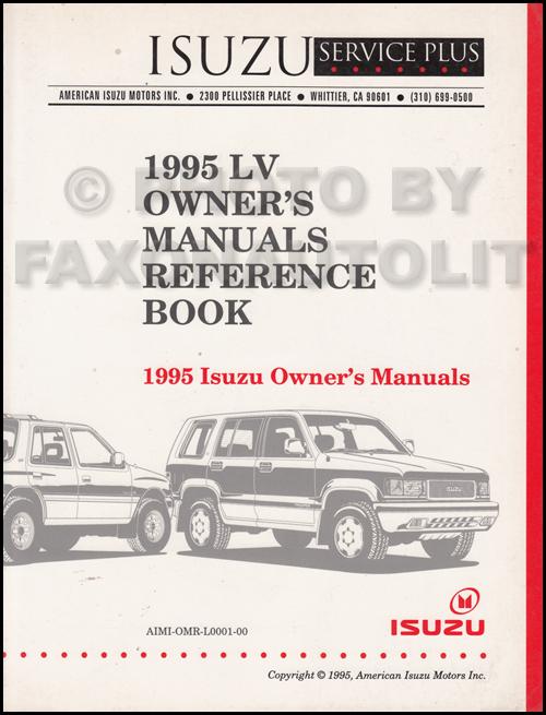 isuzu bighorn manual 1995