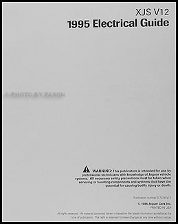 jaguar xjs wiring diagram jaguar image wiring diagram 1995 1996 jaguar xjs v12 electrical guide wiring diagram original on jaguar xjs wiring diagram