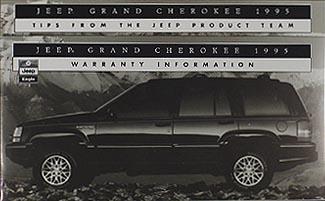 1995 jeep grand cherokee original owner s manual rh faxonautoliterature com Jeep Cherokee Sport 2001 Jeep Cherokee XJ