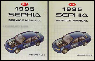 1995 kia sephia repair shop manual 2 volume set original rh faxonautoliterature com kia sephia manual pdf kia sephia 1997 repair manual