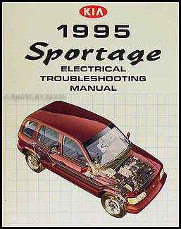 1995KiaSportageETM 1995 kia sportage electrical troubleshooting manual original kia sportage wiring diagram service manual at suagrazia.org