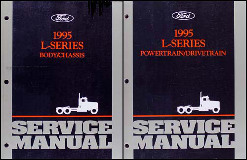 1995 ford l series 7000 9000 repair shop manual original 2 volume set rh faxonautoliterature com 1995 Ford L9000 Dashboard 1995 Ford L9000 Dashboard