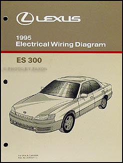 1995 lexus es 300 wiring diagram manual original rh faxonautoliterature com GM Radio Wiring Diagram Mercedes Radio Wiring Diagram 1987