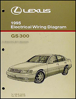 lexus gs300 service manuals shop owner maintenance and repair 1995 lexus gs 300 wiring diagram manual original