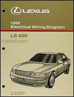 1995LexusLSWD 1995 lexus ls 400 features manual original 1990 lexus ls400 stereo wiring diagram at bayanpartner.co