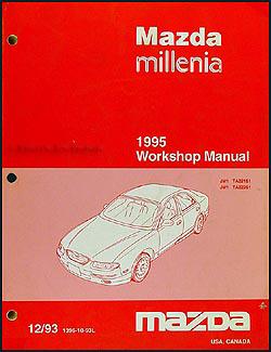 1995 mazda millenia wiring diagram manual original