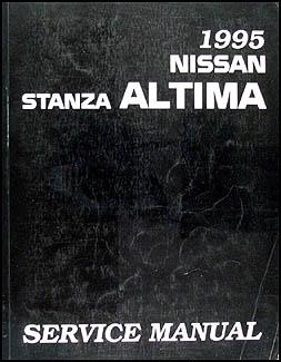 1995    Nissan       Stanza       Altima       Repair    Shop Manual Original