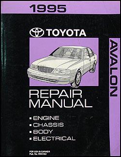1995 toyota avalon repair shop manual original 1995 toyota avalon wiring diagram 1995 toyota avalon repair manual original