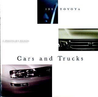 1995 Toyota Original Sales Catalog