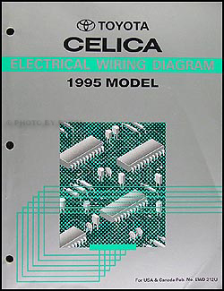 1995 Toyota Celica Wiring Diagram Manual Original
