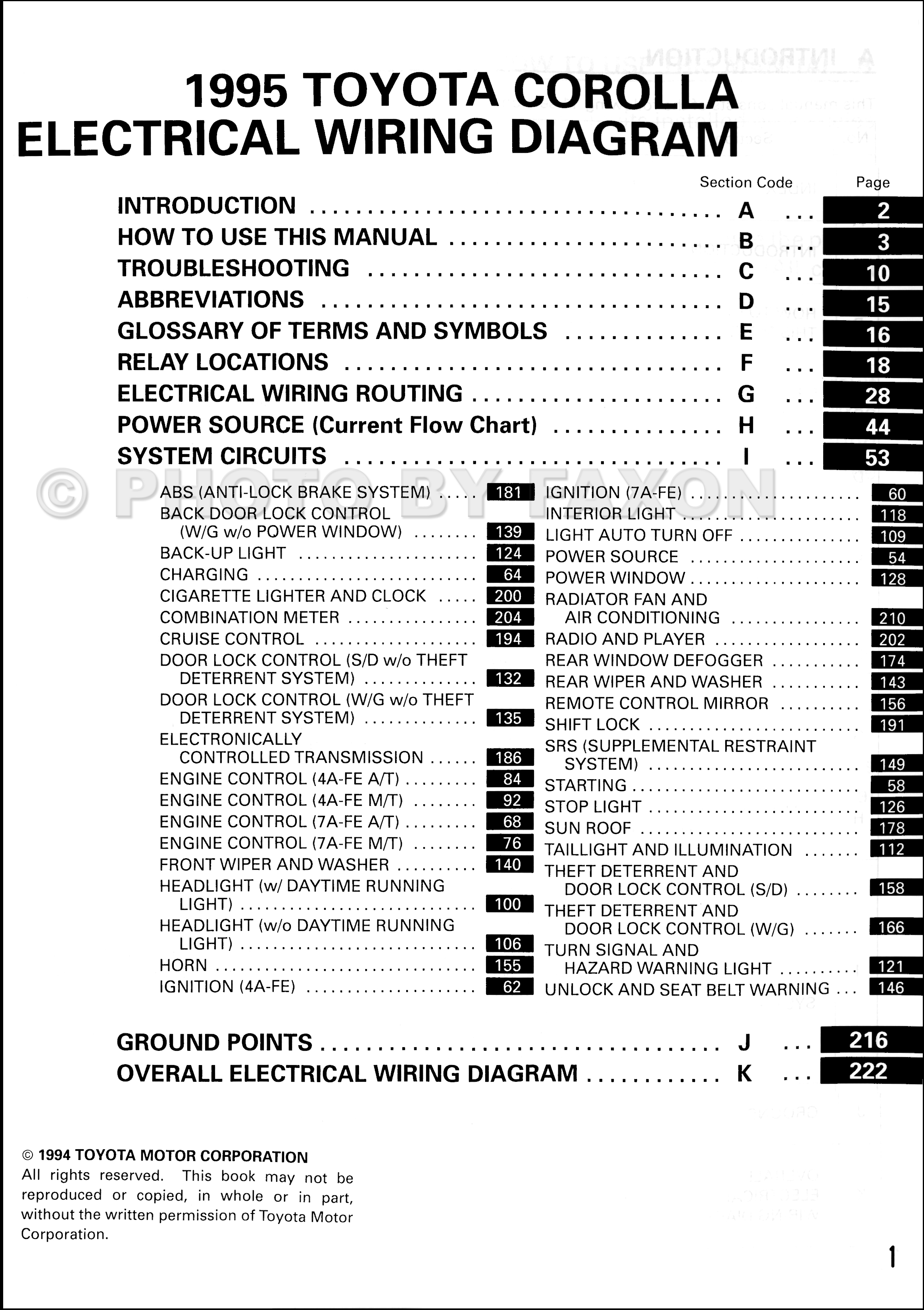 1995ToyotaCorollaOWD TOC 1995 toyota corolla wiring diagram manual original toyota camry 1989 electrical wiring diagram at reclaimingppi.co