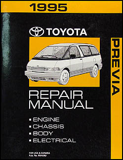 1995ToyotaPreviaORM 1995 toyota previa wiring diagram manual original House AC Wiring Diagram at reclaimingppi.co