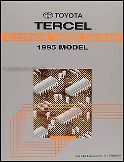 1995ToyotaTercelWD 1995 toyota tercel wiring diagram manual original