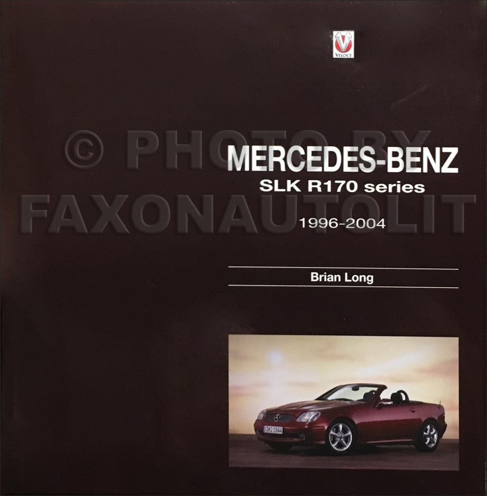 1997 2004 mercedes benz slk r170 history slk200 slk230 slk320 for Mercedes benz history