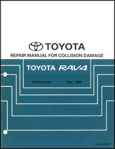 1999 Toyota A  C Wiring Diagram Manual Original Corolla Rav4 Tacoma 4runner