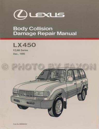 1997 Lexus Original Sales Catalog 97 Gs  Es  Ls  Sc 300  400  Lx 450