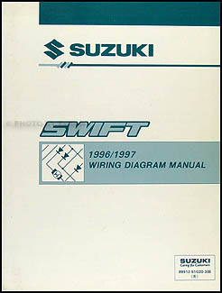 1996-1998 suzuki swift wiring diagram manual original, Wiring diagram