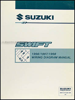 1996   1998    Suzuki       Swift    Wiring    Diagram    Manual Original