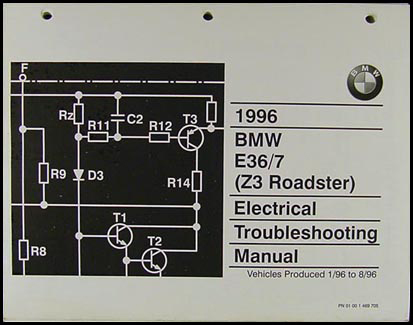 1996 Bmw Z3 Roadster Electrical Troubleshooting Manual