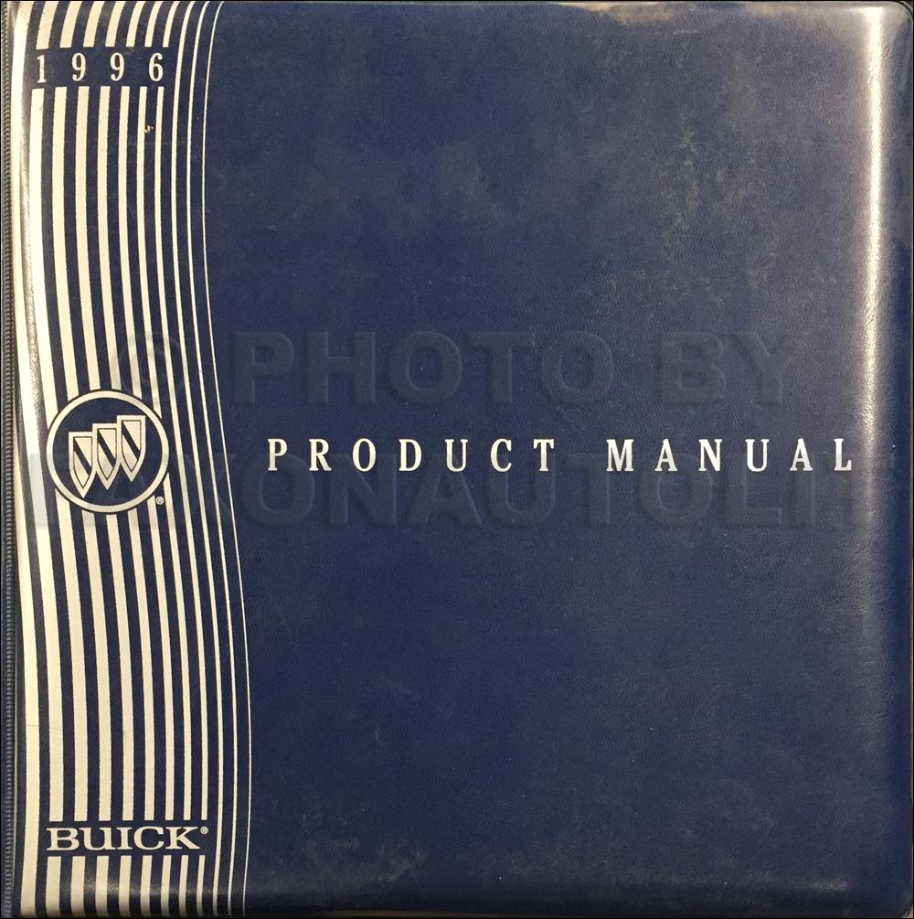 1996 Buick Color & Upholstery, Data Book Dealer Album Original