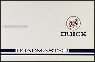1996 Buick Roadmaster Original Owner's Manual