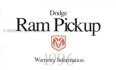 1996 Dodge Ram Pickup Truck Original Owner