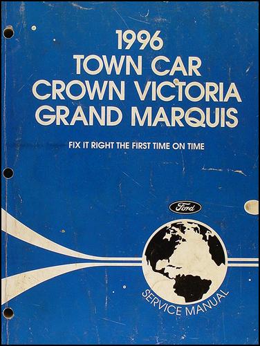 service manual 1996 mercury grand marquis engine workshop. Black Bedroom Furniture Sets. Home Design Ideas