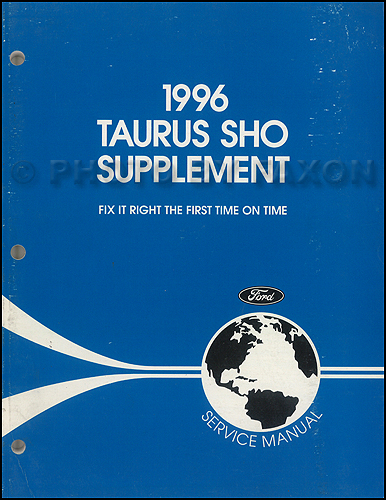 1996 Ford Taurus Sho And Ffv Electrical Troubleshooting Manual Supp