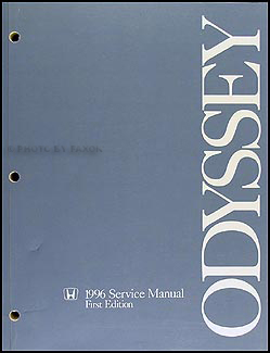 1996 Honda Odyssey Repair Manual Original
