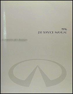 1996 infiniti j30 repair shop manual original rh faxonautoliterature com 1996 infiniti i30 service manual 1999 Infiniti J30
