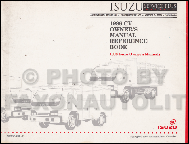 1996IsuzuCVOMRefBook 1996 1998 npr & w4 diesel repair shop manual factory reprint 964 wiring diagram at crackthecode.co