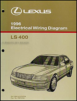 1996 lexus ls 400 wiring diagram manual original rh faxonautoliterature com