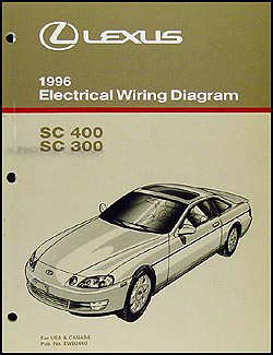1996LexusSCWD 1996 lexus sc 300 400 wiring diagram manual original Lexus SC300 Engine at mifinder.co